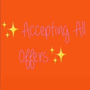 ‼️ACCEPTING OFFERS‼️